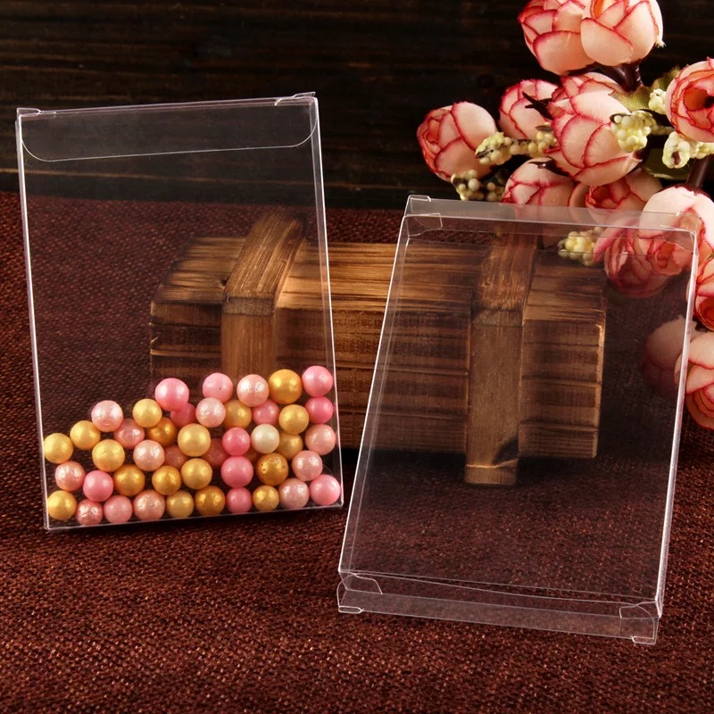Hot Sale Size31115cm Clear Wedding Favor Boxes Clear Cake