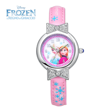 2017 Disney Kids Watch Princess Elsa Fashion Cute Wristwatches Girls Mickey Mouse for Children Clock