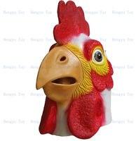 2013 Hot bán Full đầu Awesome gà Mask Impressive đạo cụ trang phục Realisic Halloween đạo c