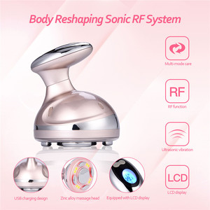 Image 2 - RF Cavitation Ultrasonic Slimming Massager LED Fat Burner Anti Cellulite Lipo Device Skin Tightening Weight Loss Beauty Machine
