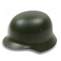 Tactical M35 Gray Helmet WW2 WWII Army Outdoor CS Survival Riding Motorcycle DE/407102