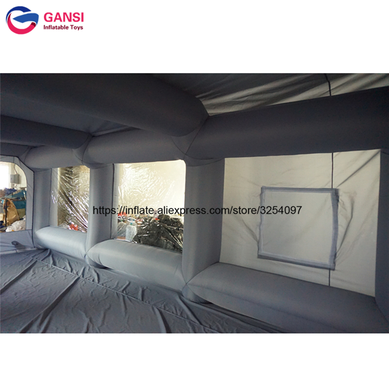 inflatable paint spray booth47