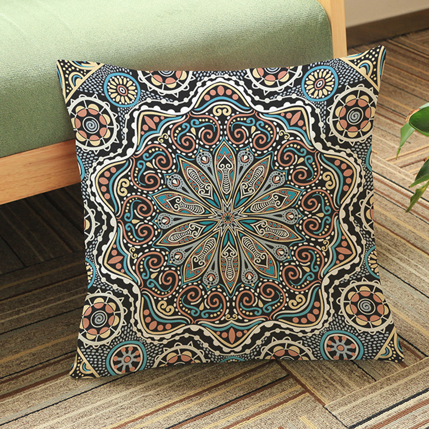 ethnic floor cushions. Fine Ethnic Thailand Decorative Cushion Cover Meditation Pillow Ethnic Buddism Floor  Cushion Boho Mandala Pillow Cases 45x45cmin Cover From Home U0026 Garden On  In Cushions I