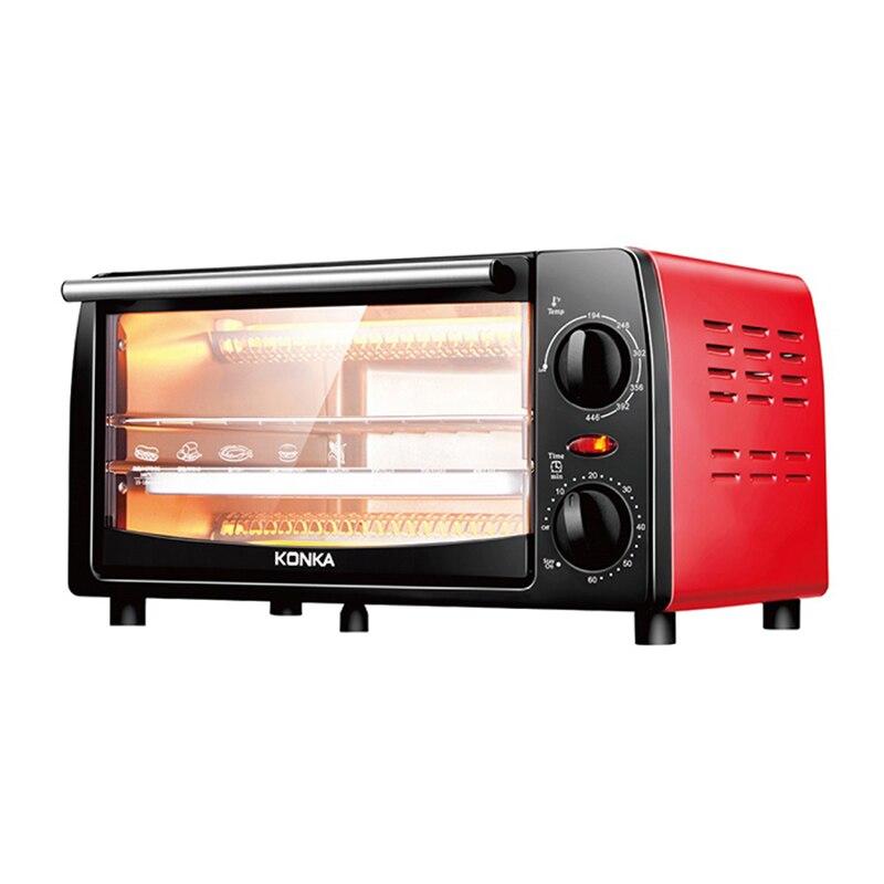 KONKA KAO-1202E multifonctionnel 220 V 12L 1050 W four électrique domestique minuterie mécanique contrôle de température appareils de cuisson