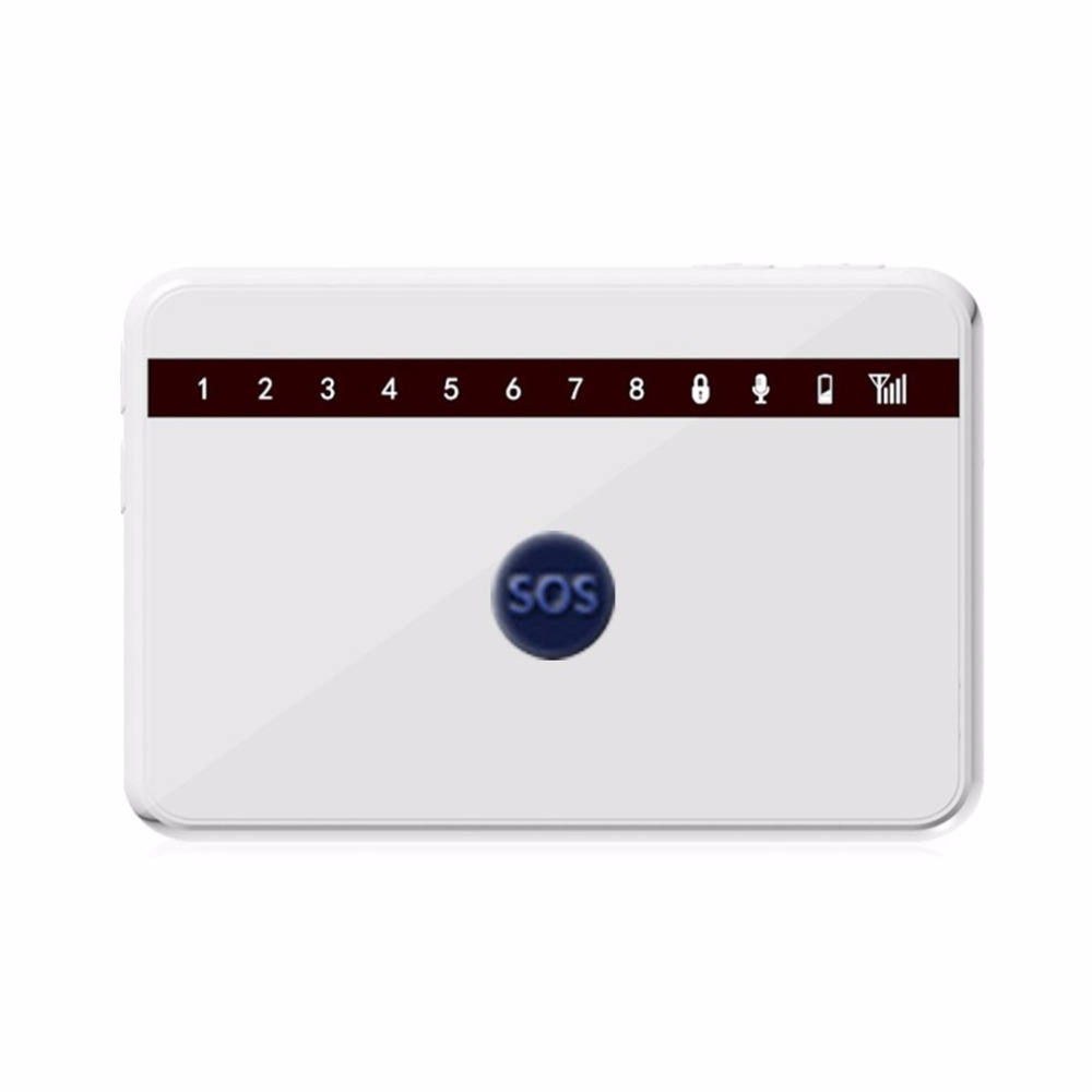 Ultra-thin SOS Button GSM Alarm System Wireless Remote Control Home Security Burglar Fire Alarm System Kit G63 2 receivers 60 buzzers wireless restaurant buzzer caller table call calling button waiter pager system