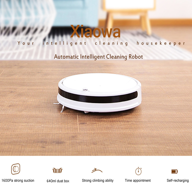Xiaomi Xiaowa Robot Vacuum Cleaner 1600Pa/1800Pa Smart Robotic Vacuum Cleaner Automatic Intelligent Cleaning Robot цена и фото
