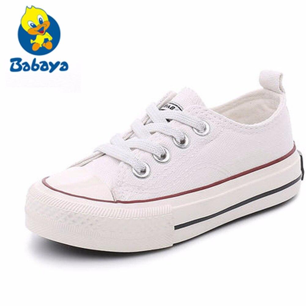 Gadis sepatu kanvas spring Autumn putih Menjalankan Sneakers anak anak  sepatu lembut dan nyaman anak laki 91751ef625