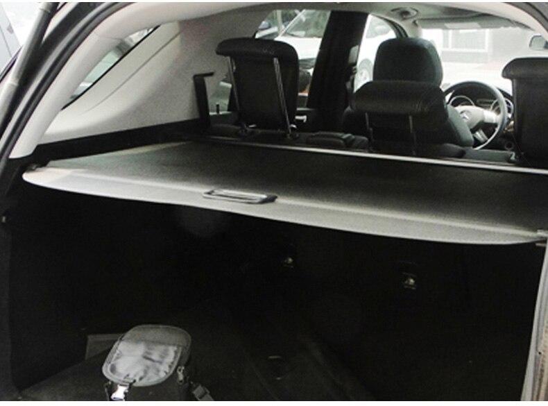 Pour mercedes-benz ML W164 ML300 ML350 ML500 2006-2012 couvercle de coffre arrière protection de sécurité accessoires ombre - 4
