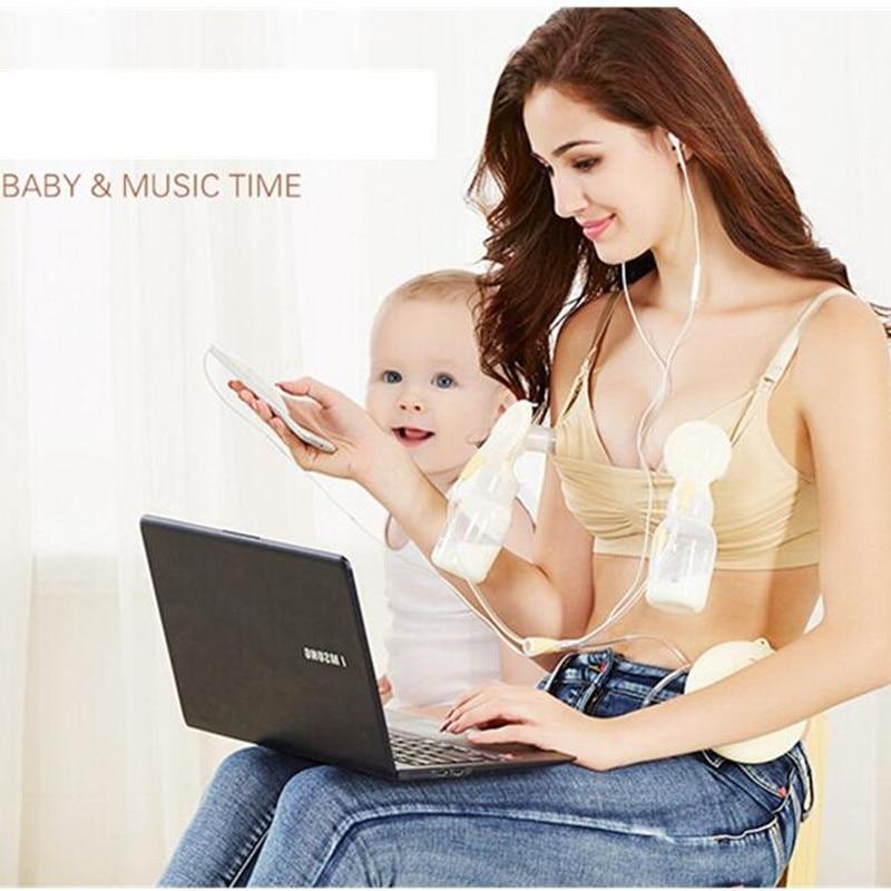 Ny Maternity Bra Bomull Maternity Bra för Nursing Tryck upp Händer - Graviditet och moderskap - Foto 2