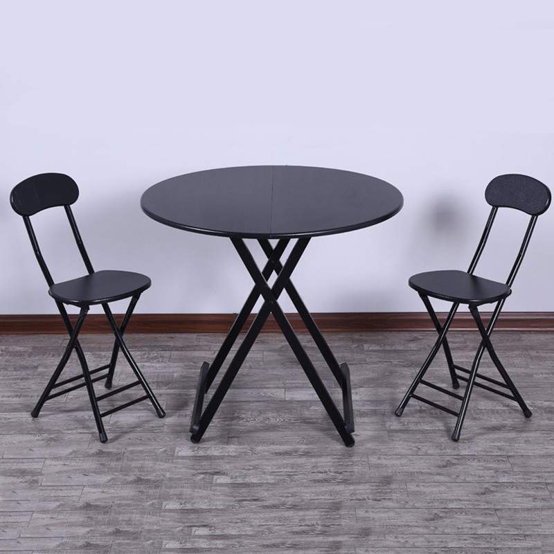 Folding Dining Room Table And Chairs: Household Folding Dining Table Chairs Simple Tables Simple