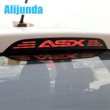 Hot Sale carbon fiber brake light decoration cover stickers case for MITSUBISHI asx 2011 2012 2013 2014 2015 car accessories(China)