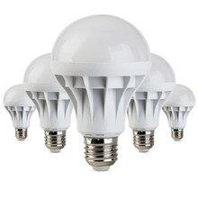 E27 энергосберегающие светодиодные лампы 5 Вт 7 Вт 9 Вт 12 Вт, светильник Ac 110/220 В Dc 12 В, светодиодные лампы для дома