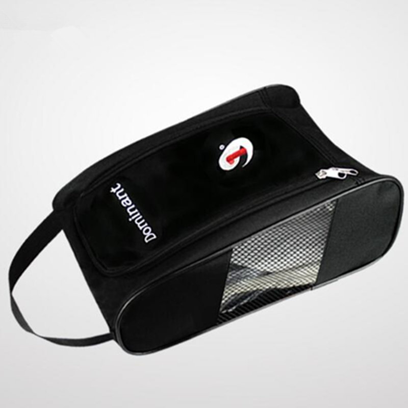 Golf Shoes Bag Zipped Sports Bag Shoe Case Breathable Golf Shoe Carrier Free Shipping
