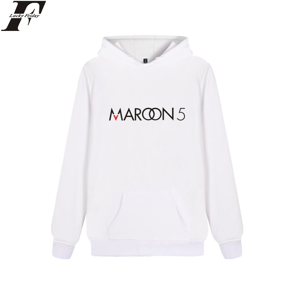Maroon 5 Rock Band Hoodie Sweatshirt Couple Unisex Fashion Winter High Quality Cotton Pullover Male Plus Women