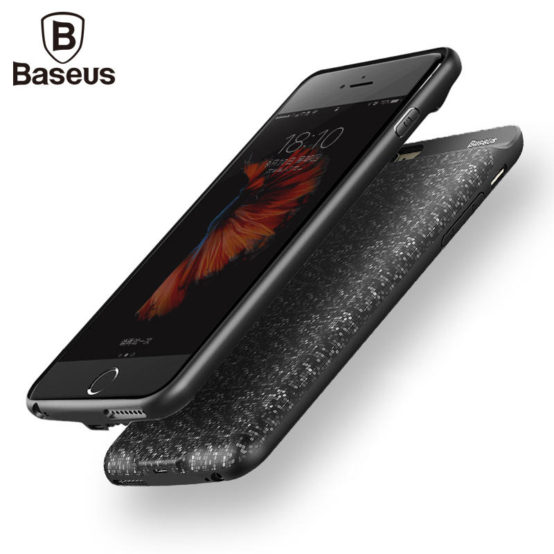 Baseus 2500 3650mAh Portable Power Bank Case For iPhone 6 6S External Battery Pack Backup Charger