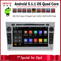 HD 1024 Quad Core Android 5.1.1 Car tape recorder GPS DVD Player For Opel Astra H Vectra Corsa Zafira B C G support OBD2 DVR