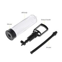 Male Phallus Waterproof Vacuum Air Pump With Barometer