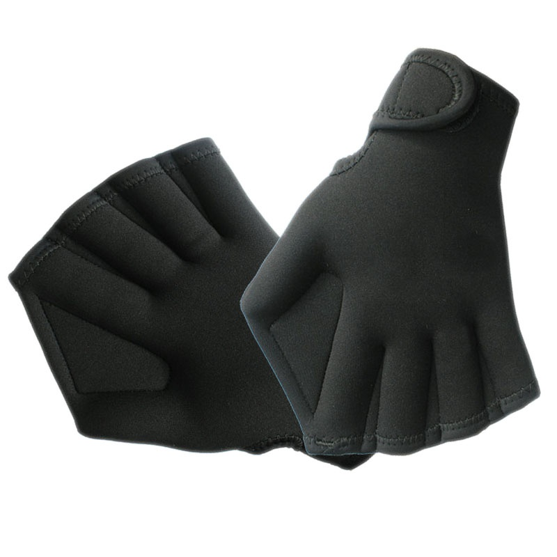 Diving-Gloves-Equipment Swimming-Paddle-Gloves Swim Training Surfing Hand-Webbed Sports