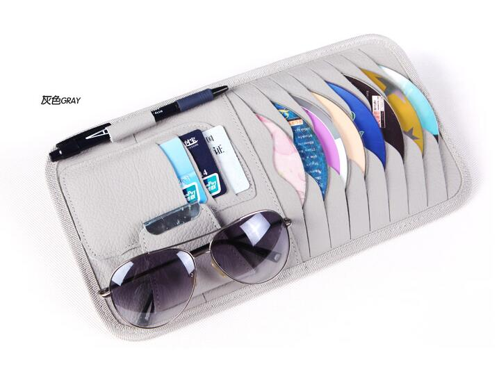car cd dvd bag car cd holder sun shading board car cd clip. Black Bedroom Furniture Sets. Home Design Ideas