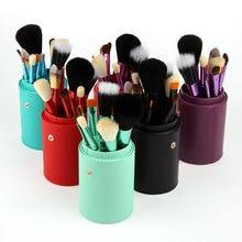 Ange Aile 12Pcs/Set New Naked Makeup Brushes Professional Co