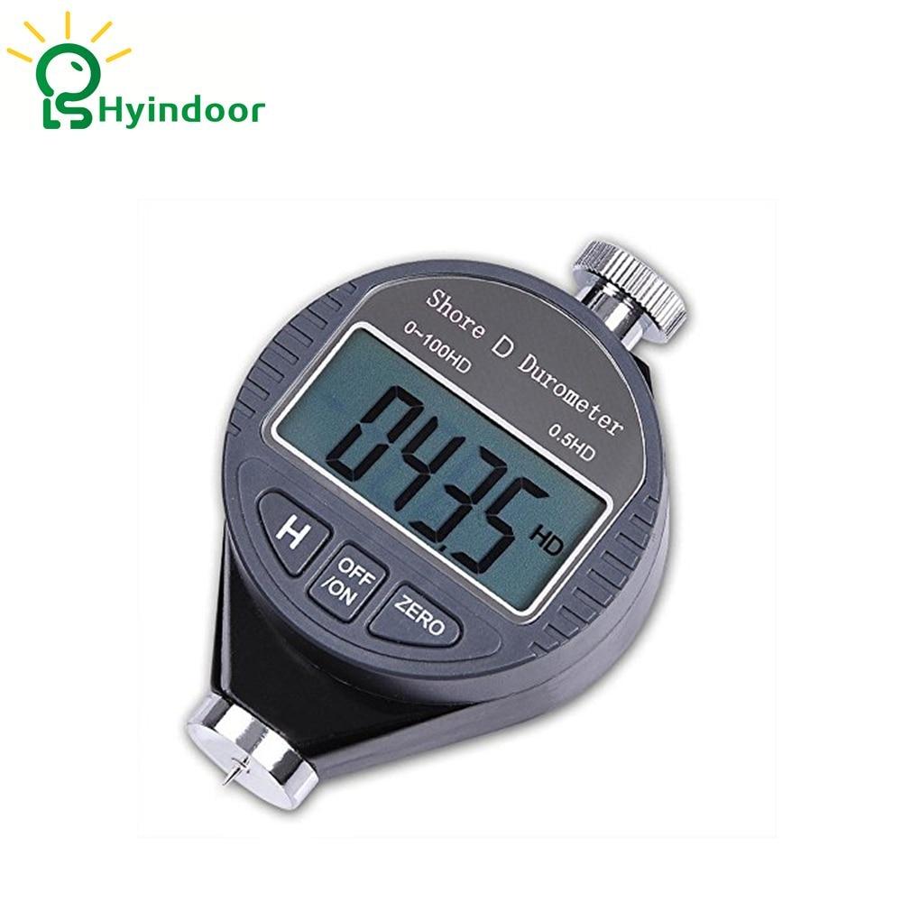 Type D 100HD Digital Shore Durometer Hardness Tester Meter High Quality Rubber Shore Durometer Digital Precise Hardness Tester  цены