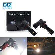 DXZ 1X Auto HB4 9006 HB3 9005 LED fog lamp 12V Canbus 1860SMD daytime running light for Car Turning Parking Bulb White DRL 6000K цена 2017
