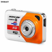 OCDAY HD Ultra Portable 1280*1024 Mini Camera X6 Video Recorder Digital Small Cam Support TF Card Micro Secure Memory Card
