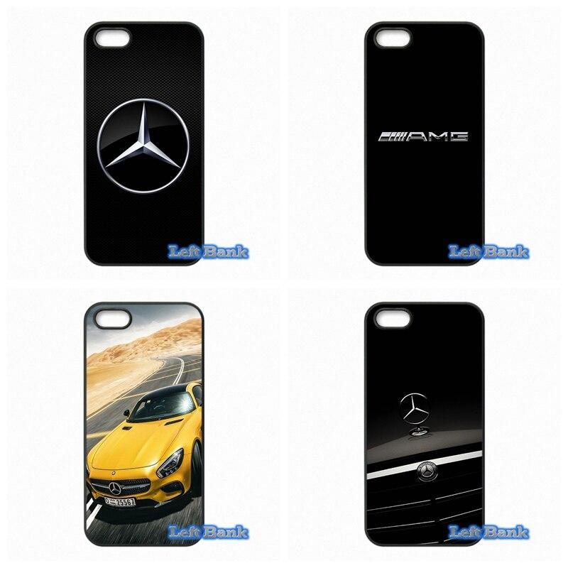 Benz Car Logo Hard Phone Case Cover For Blackberry Z10 Q10 HTC Desire 816 820 One X S M7 M8 Mini M9 A9 Plus