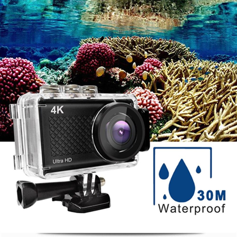 Go Pro Action Mini caméra écran tactile sport Camere Ultra HD 4 K/30fps WiFi 2.35