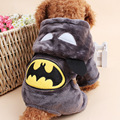 Free Shipping 2016 New Fashion Autumn winter Dog Clothes Cotton Sportswear Cool Clothes For Dogs Hot Sale