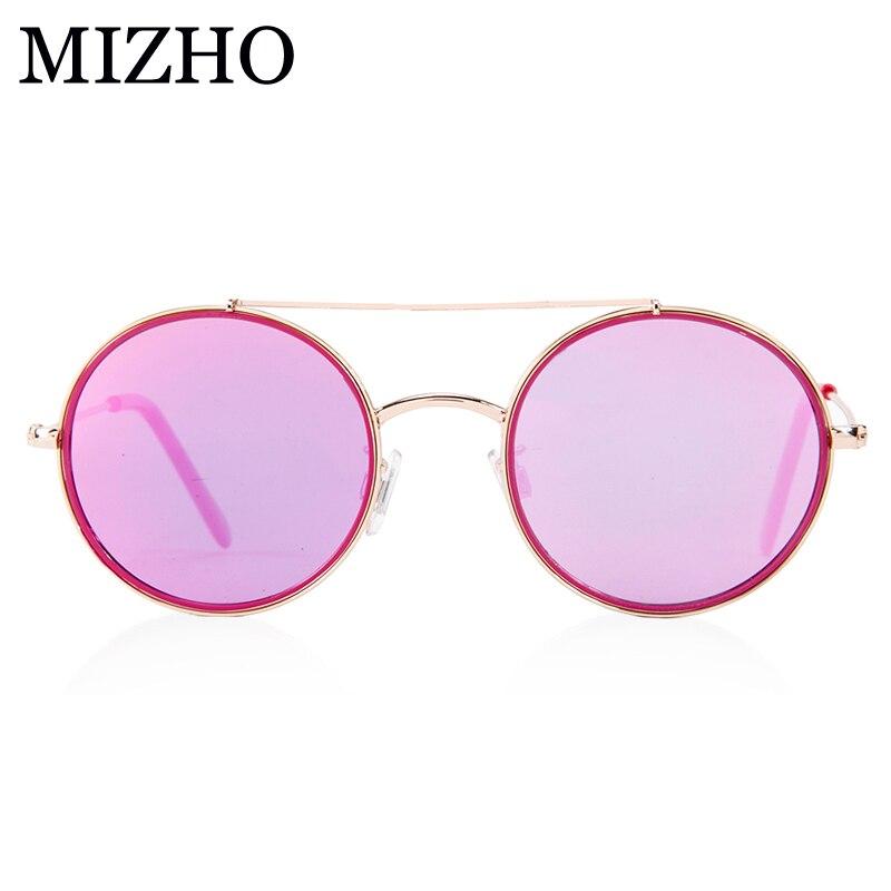 MIZHO 17G měď lehký superstar HD dětské sluneční brýle dívka polarizované kulaté UV ochranné brýle dětské chlapce vysoká kvalita