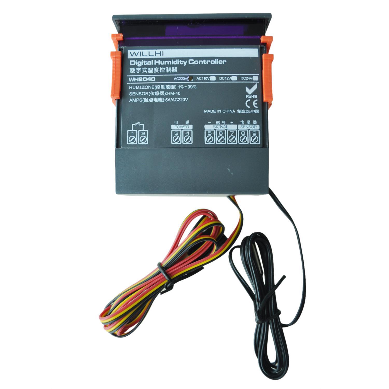 Arrive digital Luft Luftfeuchtigkeit steuern Regler WH8040Arrive digital Luft Luftfeuchtigkeit steuern Regler WH8040