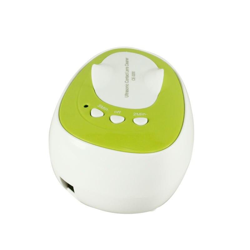 Горячая ультразвуковой очиститель CE-3200 Мини Соник волна контактные линзы Ультразвуковой очиститель для контактных линз стоимость доставки по USPS