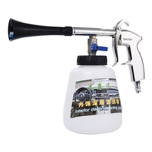 חדש 2 ב 1 שחור/Preto נושאות Tornador ניקוי אקדח, בלחץ גבוה מכונת כביסה מכונית קצף אקדח, רכב טורנדו שואב אבק