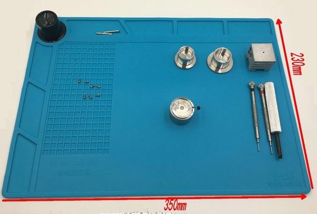 35cm x 23cm Watch Repair Work Pad Heat-resistant Non-slip mat Watch tool For Wat