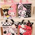 Envío gratis Kawaii Hello Kitty y Melodía y Rilakkuma Bolsa de Lona Bolsa de Hombro de Las Mujeres del Bolso Del pañal del Bebé