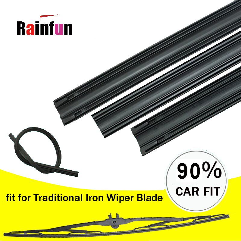 4 Pack Quality Wiper Blade Rubber Refills