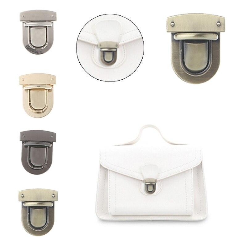1PC Metal Clasp Turn Lock Twist Lock for DIY Handbag Bag Purse Hardware Accessories1PC Metal Clasp Turn Lock Twist Lock for DIY Handbag Bag Purse Hardware Accessories