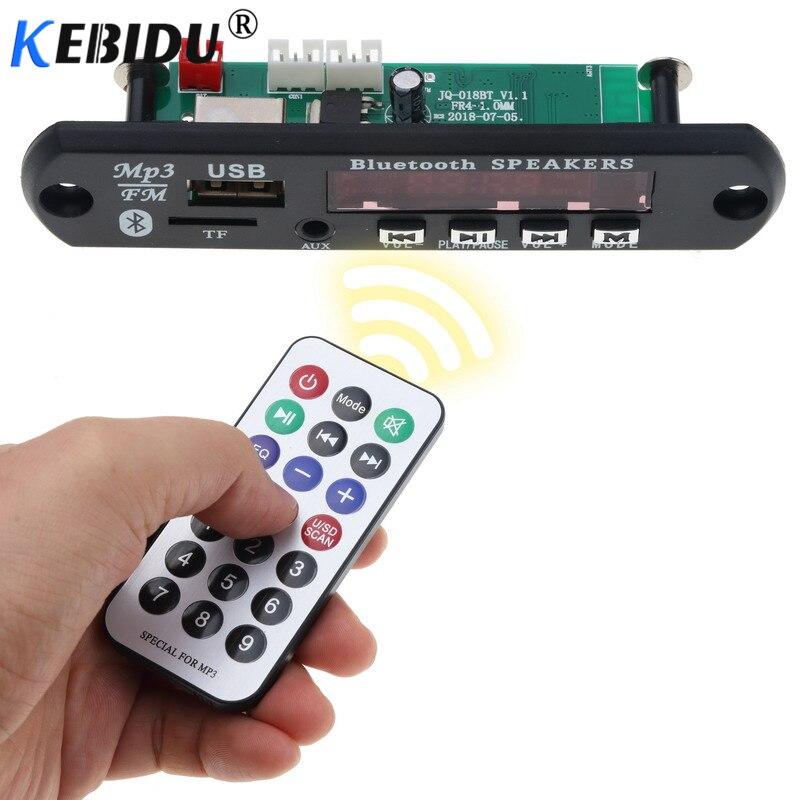 Unterhaltungselektronik Kebidu Mp3 Decoder Board Modul Bluetooth 4,1 Mp3 Player Lautsprecher Audio Wma Wav Fm Aux 5-12 V Usb Tf Fm Drahtlose Für Auto Reichhaltiges Angebot Und Schnelle Lieferung