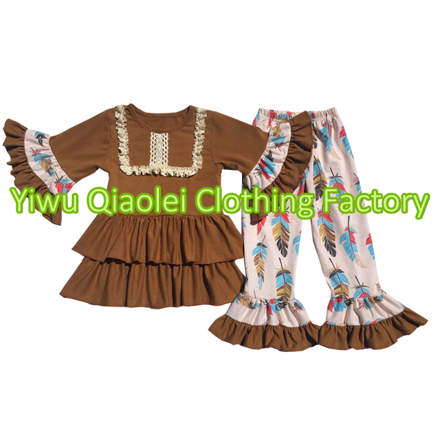 Thanksgiving boutique outfit kids ruffle thanksgiving fall clothes girls  holiday clothing b9e68c905