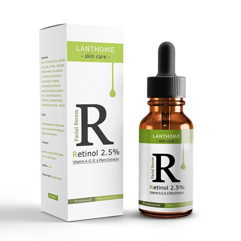 Facial Serum Vitamin C 2.5% Retinol Serum Firming Repair Face Skin Lifting Anti Wrinkle Anti Pigmentation Anti-Aging Serum