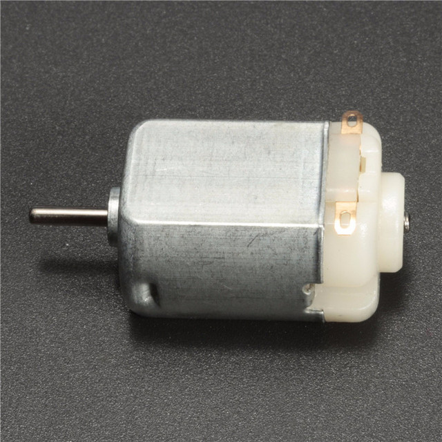 Miniature Small Electric Motor Brushed 1.5V - 12V DC for Models Crafts Robots