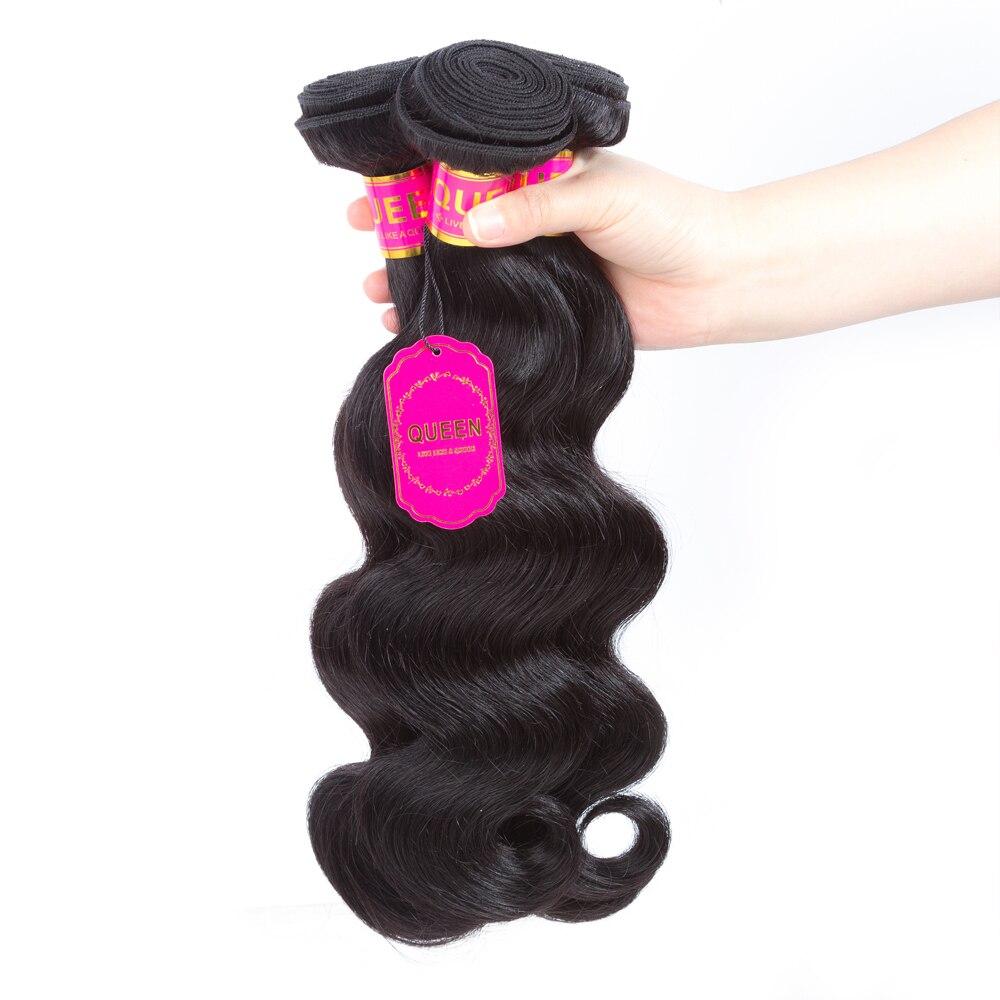 B16  Queen Hair Merchandise Peruvian Physique Wave Hair Bundles Remy Human Hair Weave Bundles Extensions Can Purchase Three or Four Bundles With Closure HTB1vX7pdBfM8KJjSZFOq6xr5XXaL