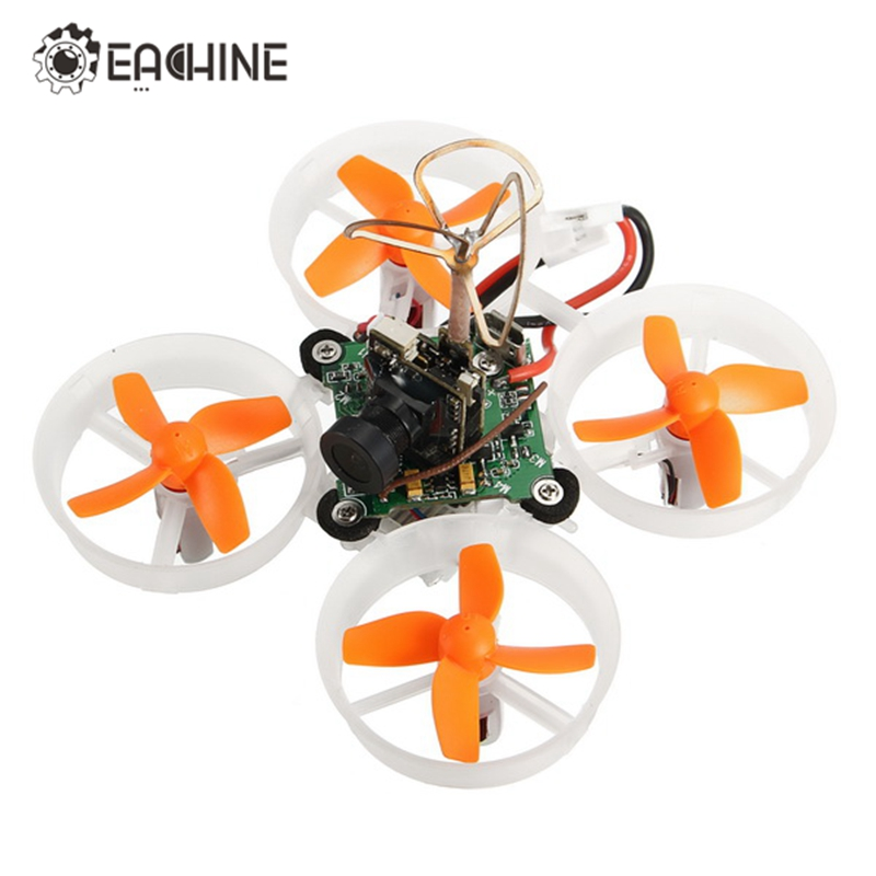 Eachine E010S 65mm Micro FPV Racing Quadcopter Drone w/ 800TVL CMOS Based On F3 Brush Flight Controller For DSM/FLYSKY/Frsky BNFRC Helicopters