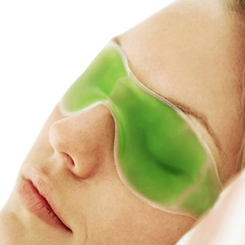Romantic  Online Summer Essential Beauty Ice Goggles Remove Dark Circles Relieve Eye Fatigue Gel Eye Masks 4 Colors Women Skin Care