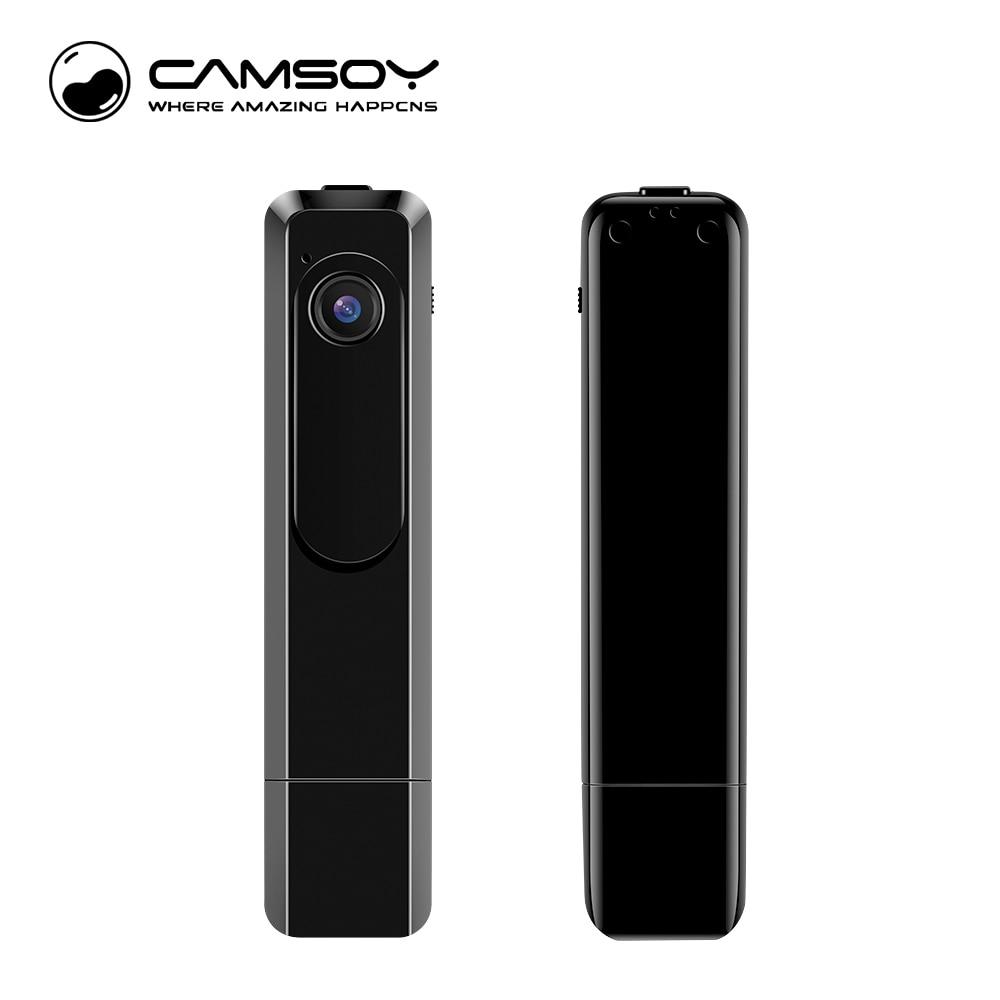 Mini cámara C181 Mini DV 1080P Full HD H.264 Cámara con pluma y carcasa de metal Grabadora de vozMicro cámara Anti-vibración Mini DV Cámara