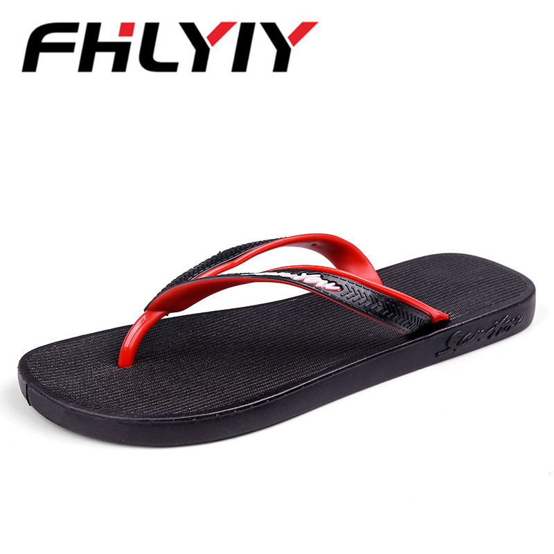 Summer Mens Slippers New Outdoor Breathable Flip Flop Slipper Men Casual Beach Shoes Fashion Man Slides Flip Flops Pantoufle sandals men fashion new brand buckle mens flip flop sandals casual slippers brown summer beach sandals men shoes breathable