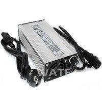 54.6 v carregador de bateria Carregador universal automático para 13 6A s 48 v Li-ion Battery ebike cadeira de rodas