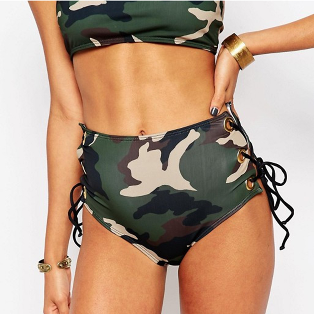 Swimsuit Women Bikinis de las mujeres Push Up Camouflage Beachwear Swimming Suit maillot de bain femme Plus Size Bikini Set
