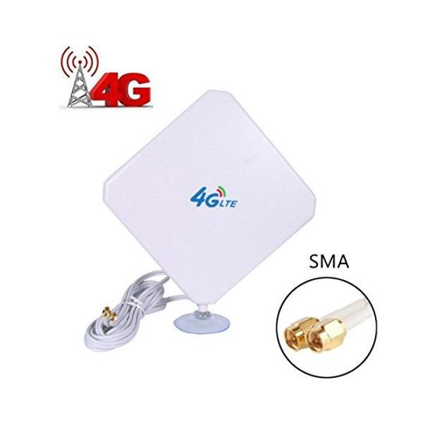 35dBi Amplificateur À Gain Élevé Wifi Répéteur Mobile Signal Booster 4G LTE Antenne Sans Fil Réseau Expander Routeurs SMA Connecter